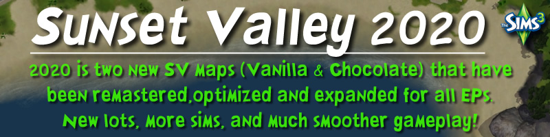 Sunset Valley 2.0 release banner